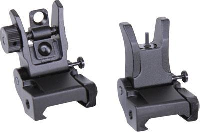 Guntec Folding Iron Sight Set