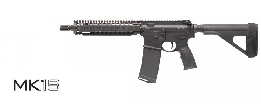 "Daniel Defense Mk18 Pistol 5.56/10.3"" FDE"