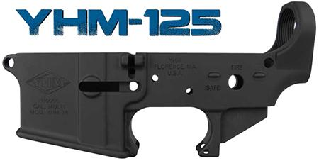 Yankee Hill 125-billet Billet Lower Receiver