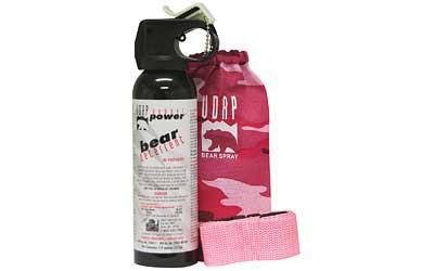 Udap Bear Fog 7.9oz Pink Hlstr/blt