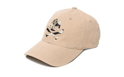 Phu Skull Flag Flex Hat Tan