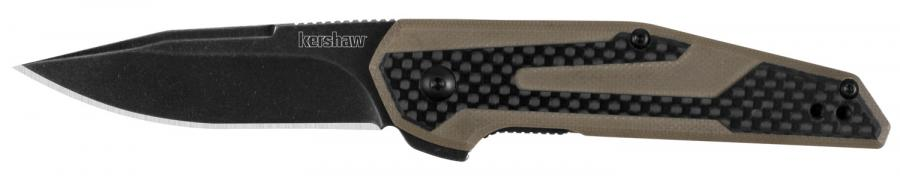 "Kershaw 1160tan Fraxion Folder 2.75"" 8cr13mov"