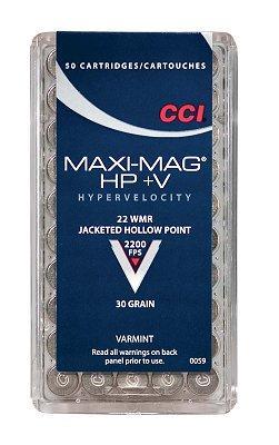 CCI Varmint 22 Magnum Jacketed Hollow