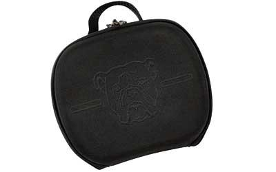 "Bulldog Molded Pstl Cs 9x12"" Blk"