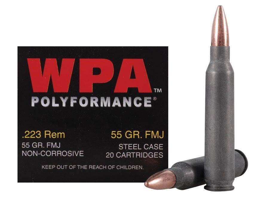 Wolf 22355 Performance 223 Remington/5.56 Nato