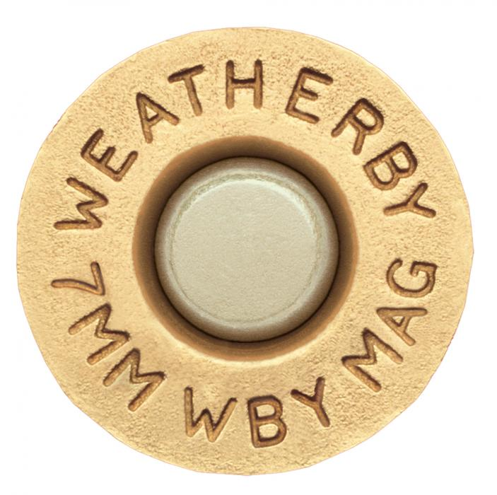 Weatherby Unprimed Brass 7mm Weatherby Magnum