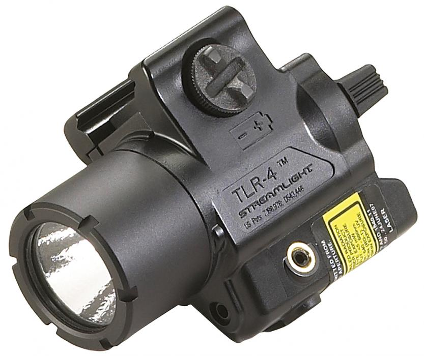 Streamlight Tlr4 Weapon Light W/laser CR2