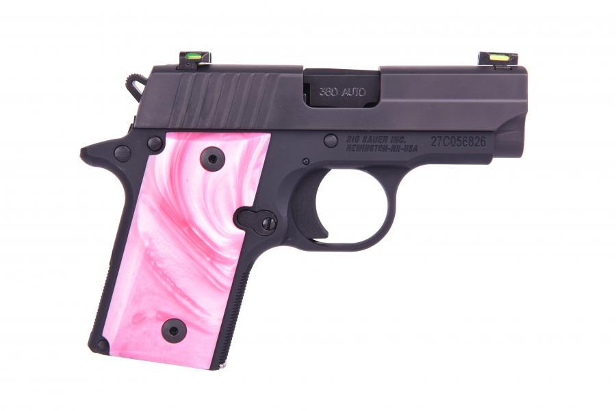 P238 Pink Pearl 380acp X-green