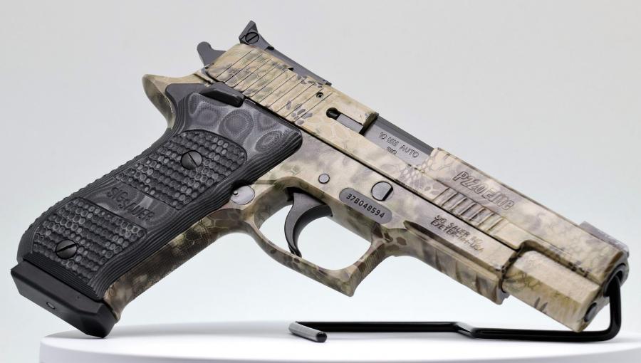 Used Sig Sauer P220r5 Hunter Camo,