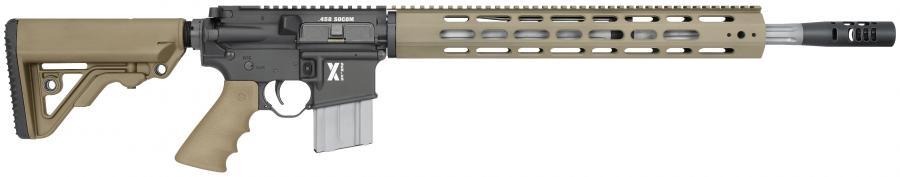 Lar-458 X-1 Rifle, TAN With Operator