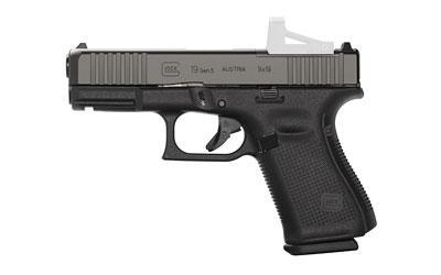 Glock 19 Gen5 MOS 9mm 15rd