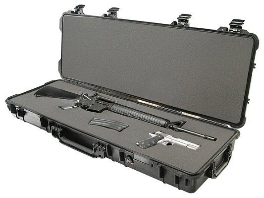 "Pelican Long Case 42x13x5"" W/wheels Watertight/dust"