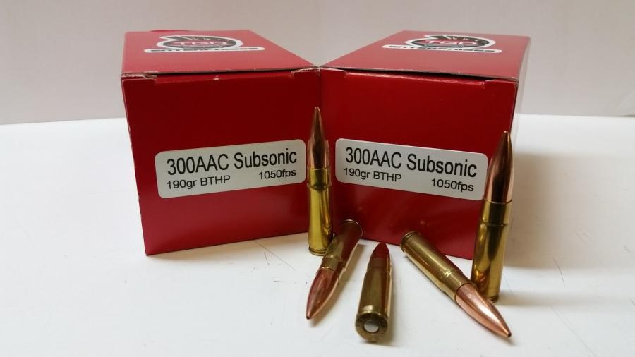 TGD 300aac Subs 190 GR SMK