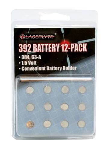 Laserlyte 392 1.5v 12 Pack