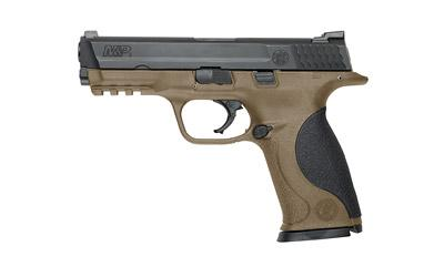 "S&W M&p 9mm 4.25"" 17rd Bl/fde"