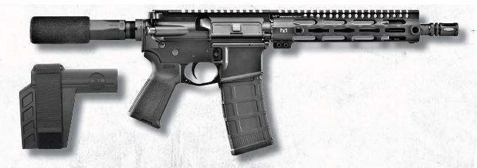 Fn15 Pistol 5.56mm 30+1 Brace