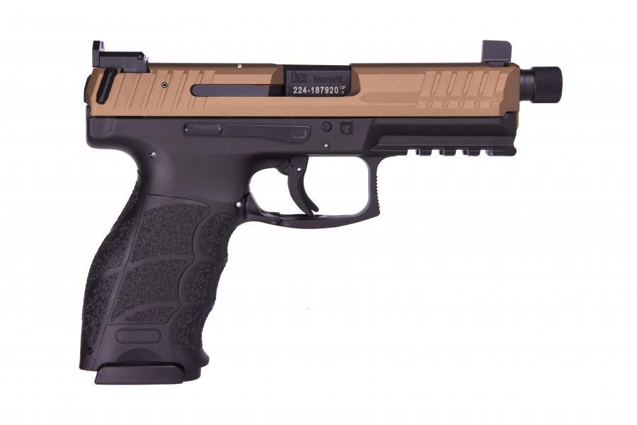 HK VP9 Tactical 9mm Bronze/blk TB