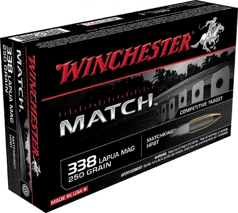 Winchester Ammo Match Boat Tail Hollow