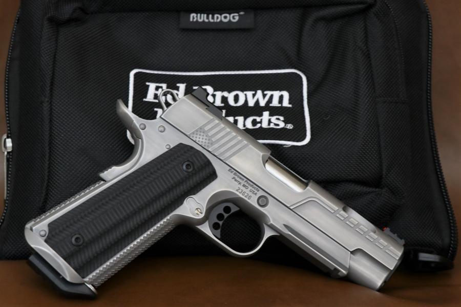 Ed Brown FX1 .38 Super Brushed