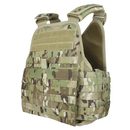 Modular Operator Plate Carrier With Multicam