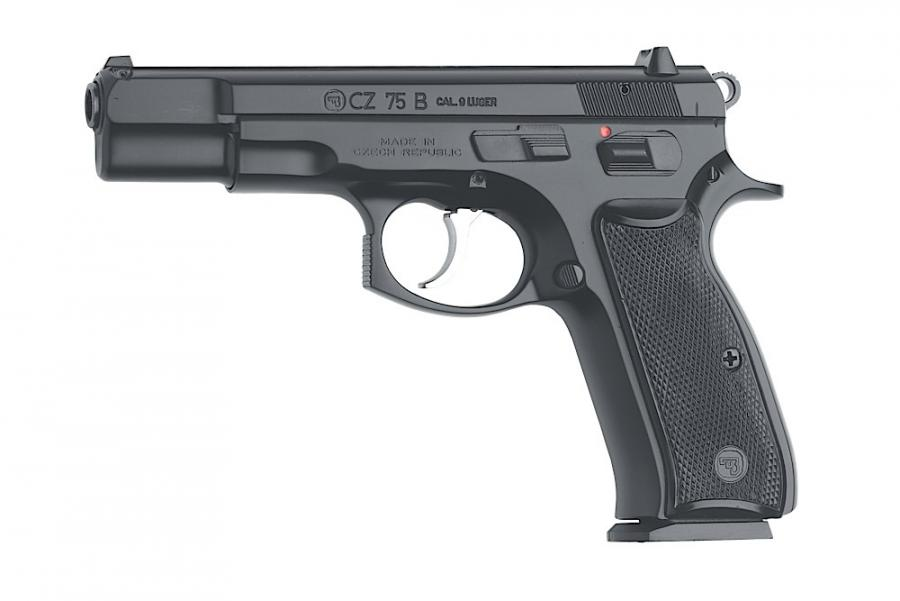 "CZ Cz-75 75-b 9mm 4.7"" 10+1"