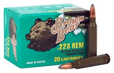 Brown Bear .223 Remington 62gr