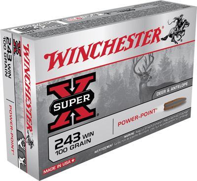 Winchester Ammo Super X 243 Winchester