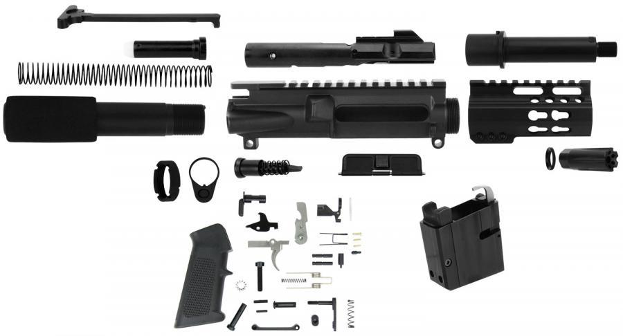 Tacfire Pk9mmlpk4-adc 9MM 4.5 Pstl Build