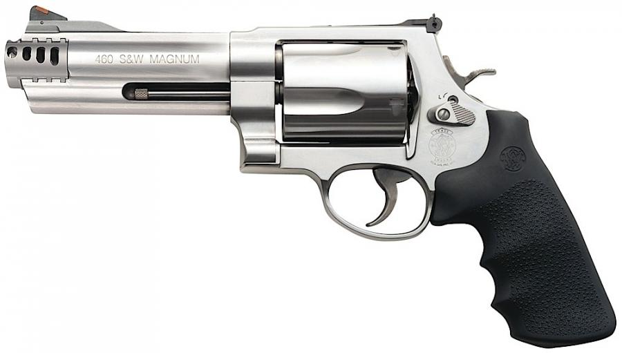 Smith & Wesson 5 Round Stainless