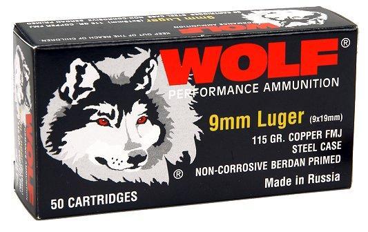 Wolf Handgun 9mm Full Metal Jacket