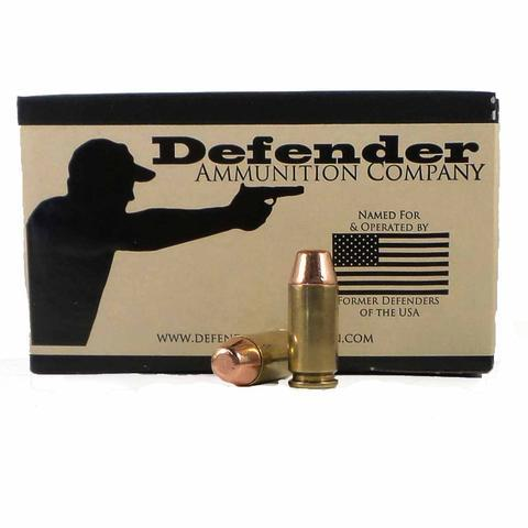 Defender Ammo 40 SW 165 Grain
