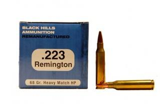 Rilfe .223 - 68gr. Heavy Match