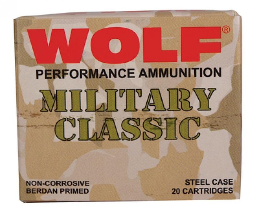 Wolf Military 30-06 Springfield Soft Point