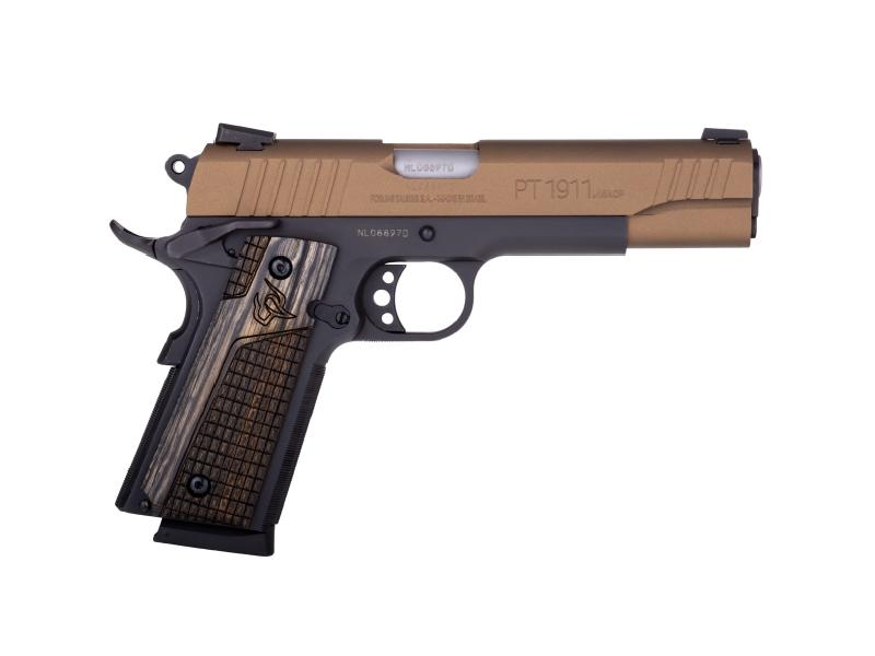 1911 45acp Blk/bronze 5 8+1