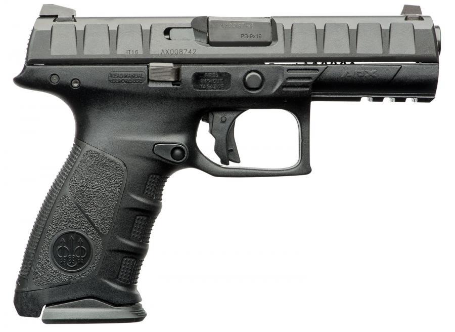 """Used Beretta Apx 9mm 4.25"""" Bl"""