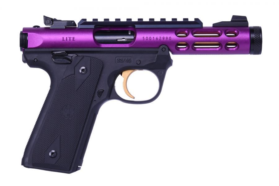 Mkiv 22/45 Lt 22lr Purple/gold