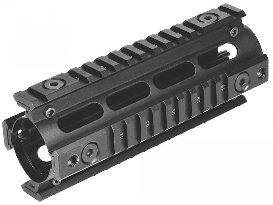 Ncstar Quad Rail For Carbine Weaver