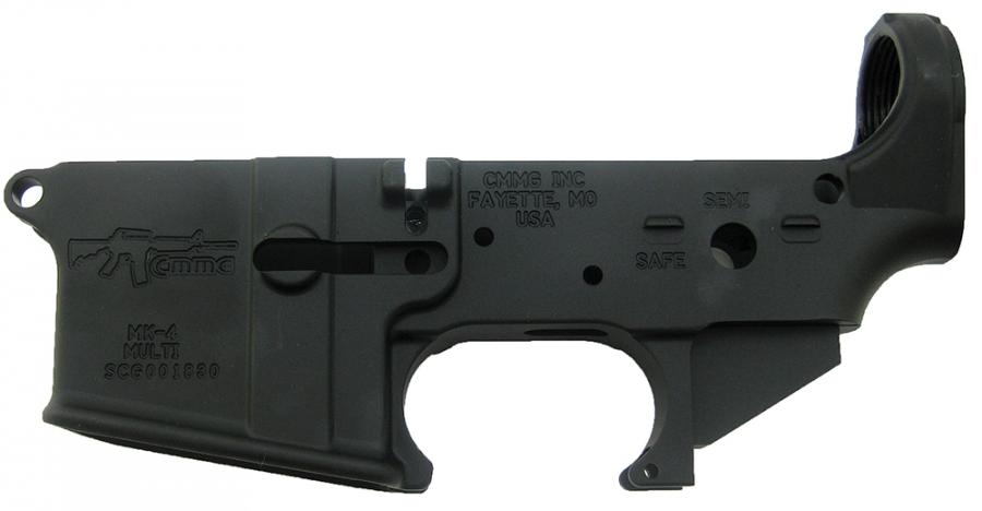 Cmmg 5.56/223 Ar-15 Lower Receiver Stripped