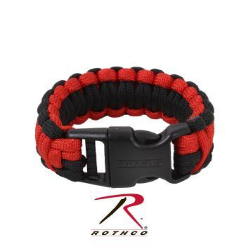 Deluxe Paracord Bracelet - Red &