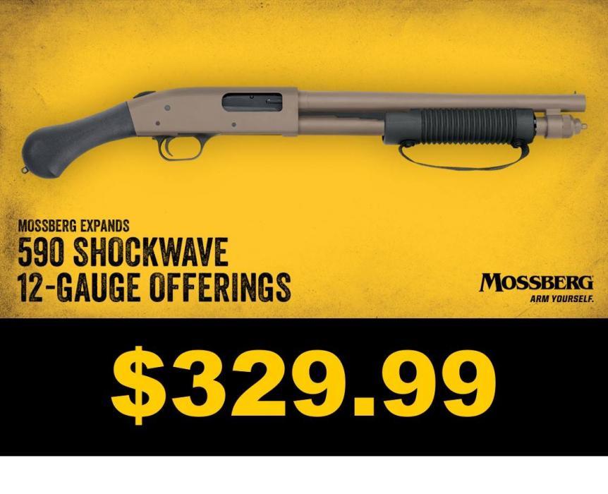 NEW 590 Shockwave FDE