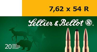 Sellier & Bellot 7.62mmx54mm Russian FMJ