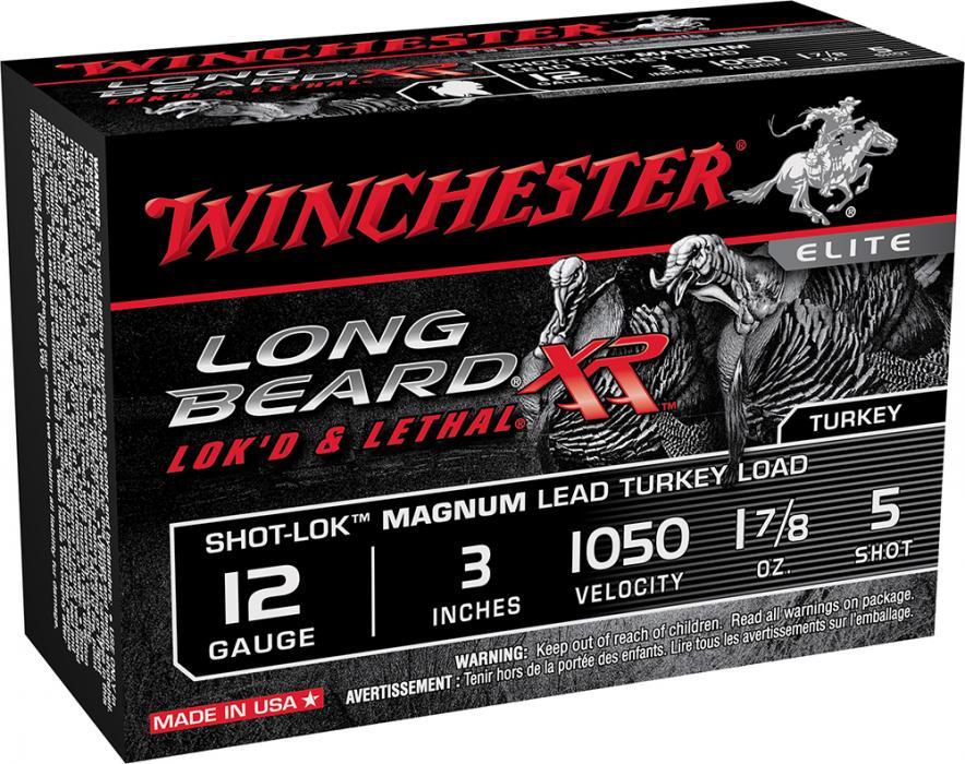 "Win Longbeard 12ga 3.5"" #5 Mag"