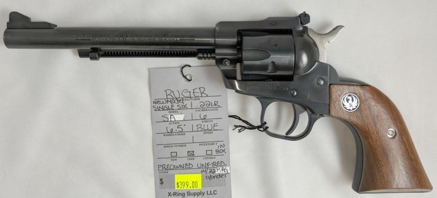 Ruger NEW Model Single SIX (a-4196)