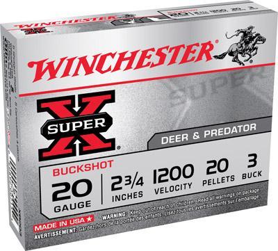Win Super X Buckshot 20 ga