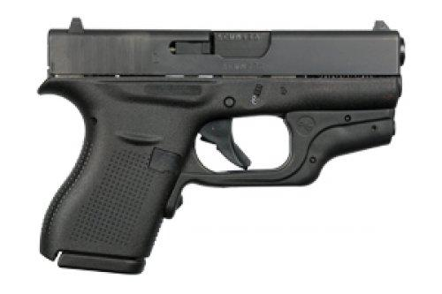 Glock 42 380acp 6rd W/laser+holster