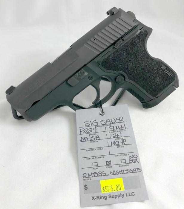SIG Sauer P224 9MM (a-5000)