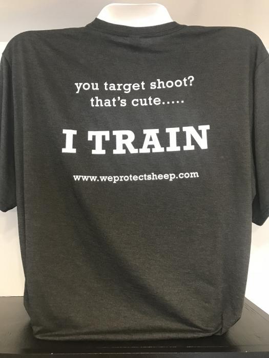 """Small Sheepdog """"I Train"""" T-shirt"""