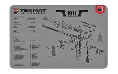 Tekmat Pistol Mat 1911 Gry