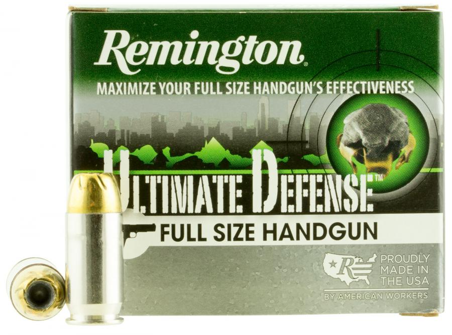 Remington Ultimate Defense .45 185gr Bjhp