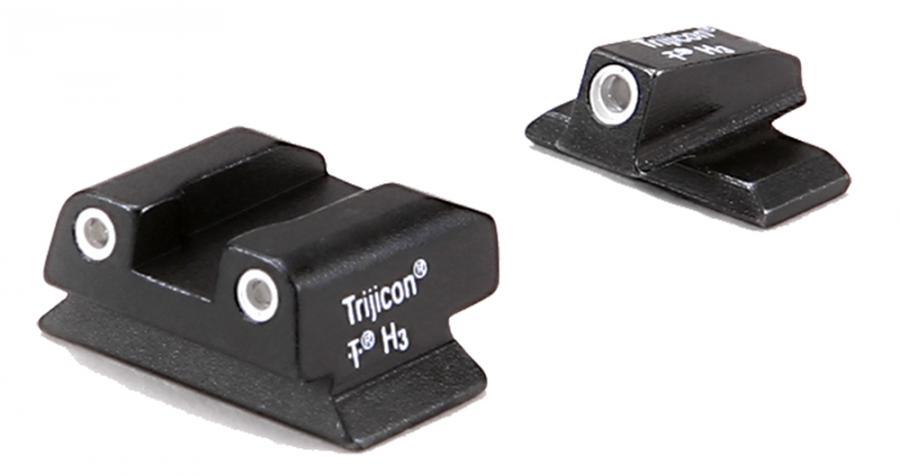 Trijicon Tritium Sights Beretta Green Front/rear